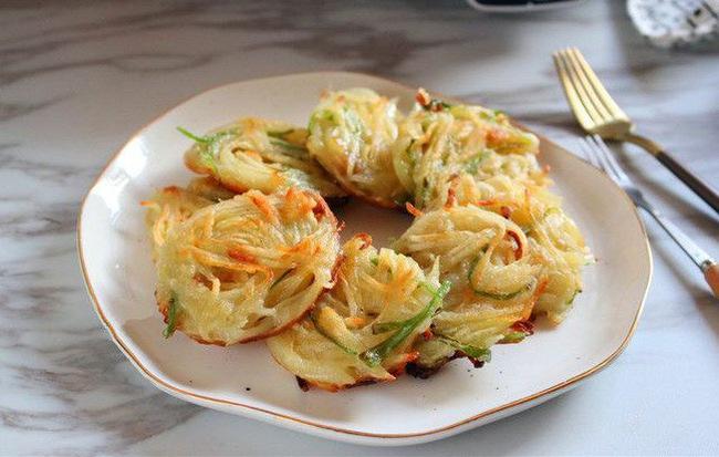 Lót dạ xế chiều với món bánh khoai tây chiên làm cực dễ - Ảnh 3