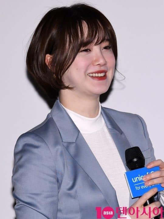 Goo Hye Sun tại sự kiện: Trẻ như gái 20, trắng đến phát sáng dù đã trang điểm hạ tông da - Ảnh 7