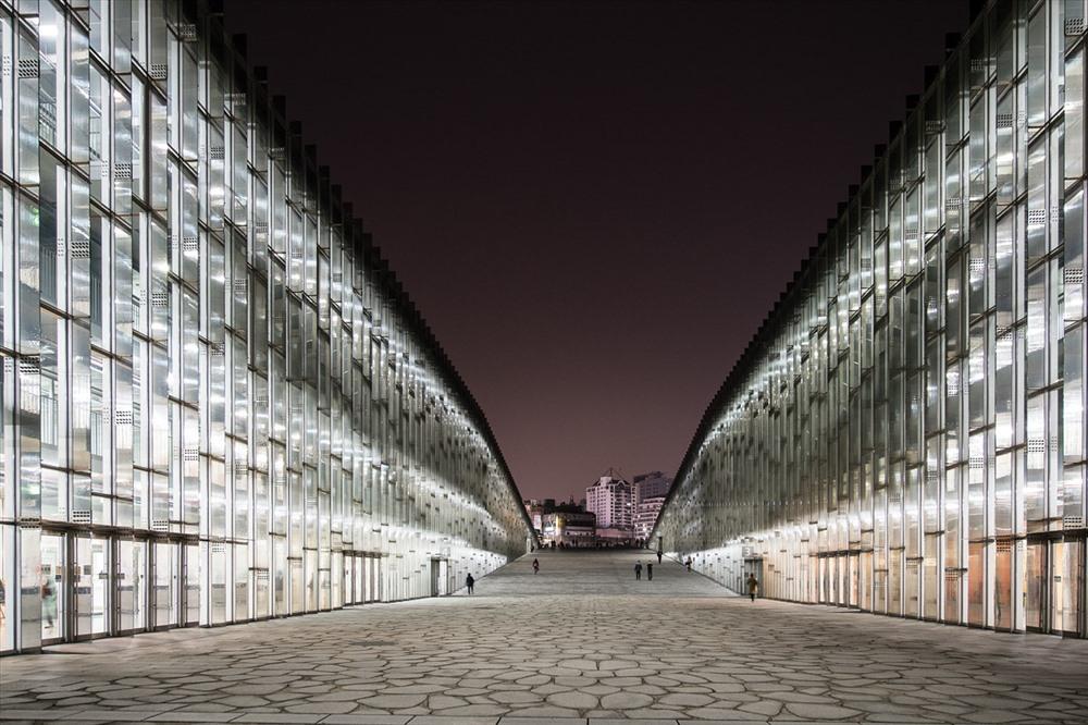 Kiến trúc độc lạ ở ngôi trường chỉ có nữ giới lớn nhất Hàn Quốc - Ảnh 7