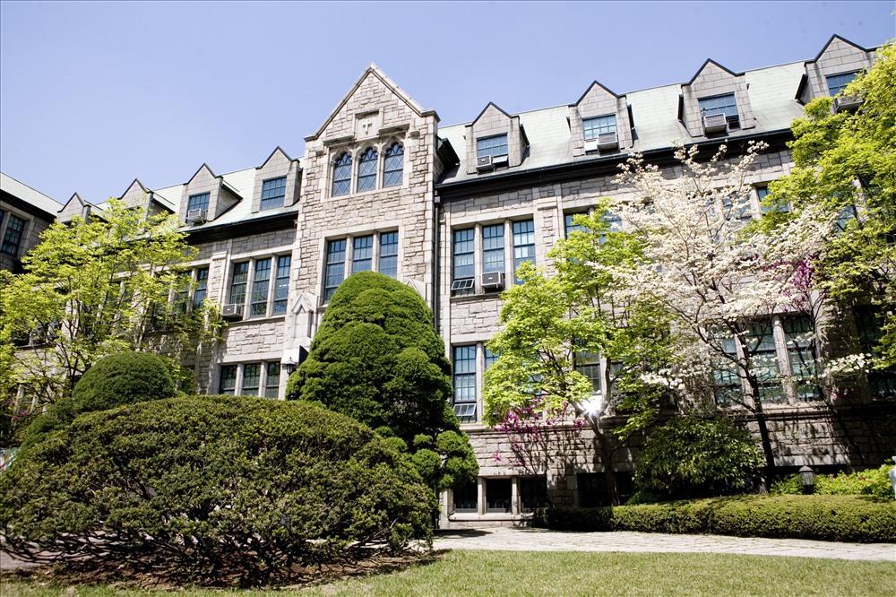 Kiến trúc độc lạ ở ngôi trường chỉ có nữ giới lớn nhất Hàn Quốc - Ảnh 8