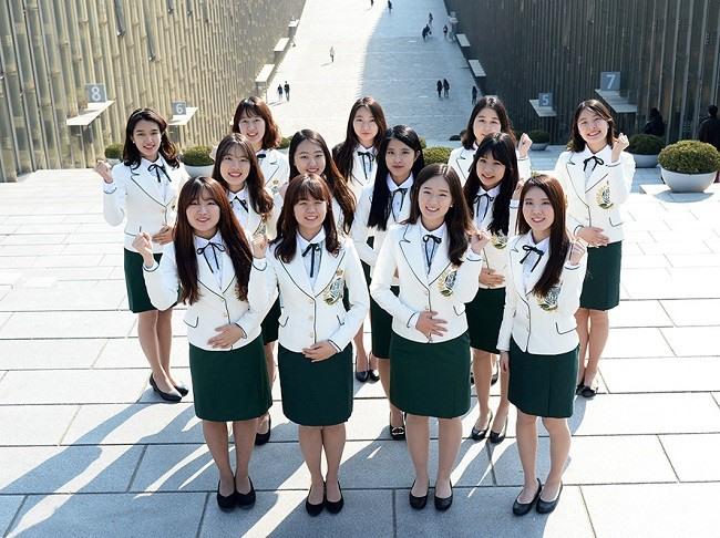 Kiến trúc độc lạ ở ngôi trường chỉ có nữ giới lớn nhất Hàn Quốc - Ảnh 3