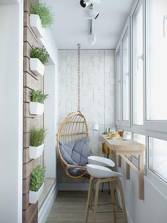 Ý tưởng trang trí ban công chung cư vừa đẹp vừa an toàn - Ảnh 6