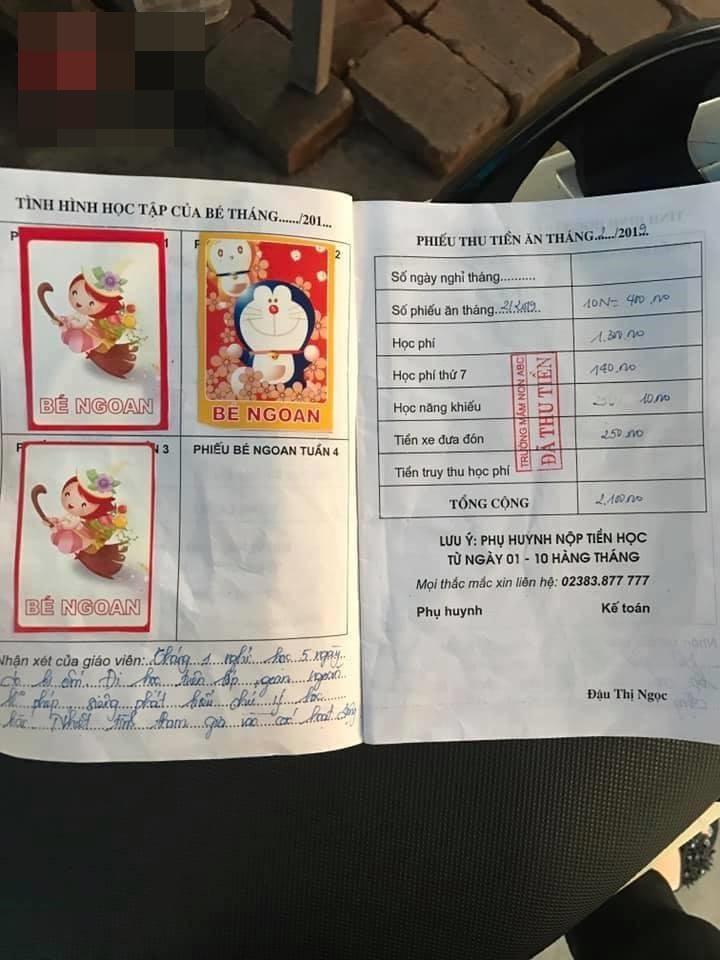 Bé 5 tuổi bị trường mầm non đuổi học vì thiếu 15 tháng học phí: Gia đình bức xúc phản pháo - Ảnh 3