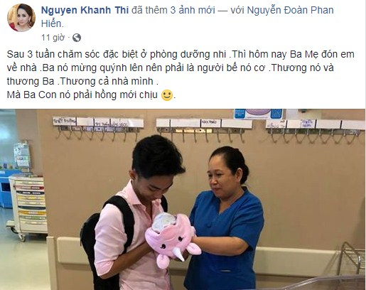 Phan Hiển xúc động đón con gái về nhà sau 3 tuần cách ly, Khánh Thi tiết lộ điều bất ngờ - Ảnh 1