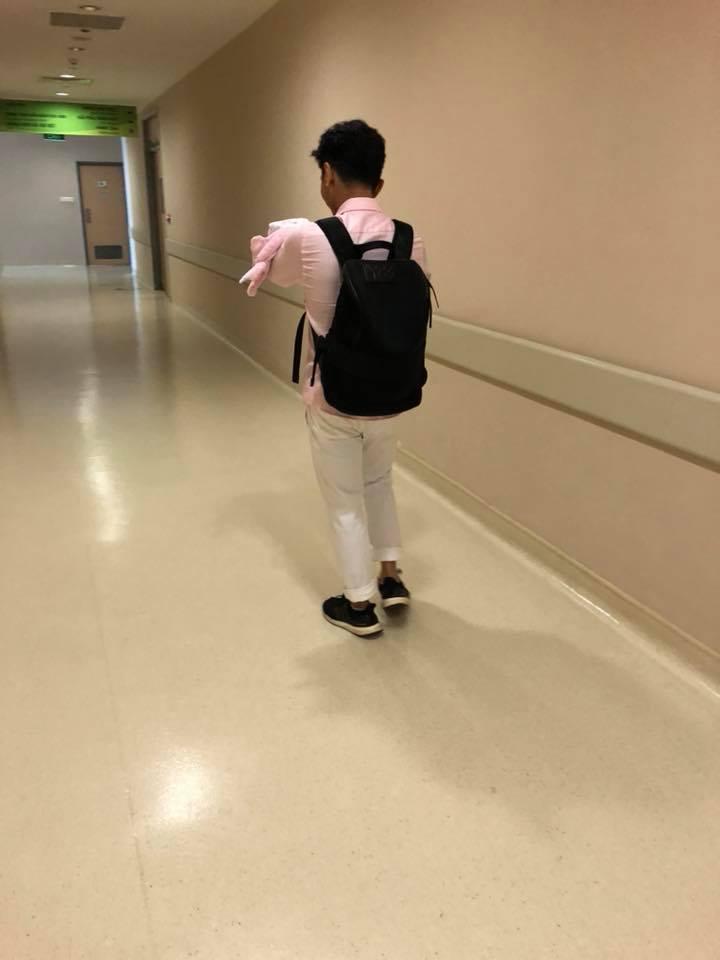 Phan Hiển xúc động đón con gái về nhà sau 3 tuần cách ly, Khánh Thi tiết lộ điều bất ngờ - Ảnh 5