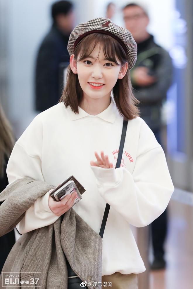 Lột xác từ style Nhật 'thắm thơm' sang style Hàn cá tính, Sakura (IZ*ONE) khiến netizen phải trầm trồ không ngớt - Ảnh 14