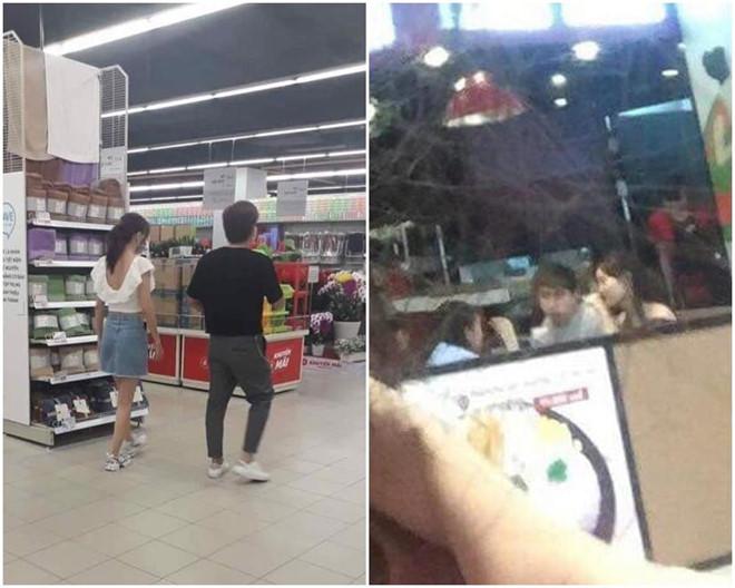 Chi Dân và Lan Ngọc bị bắt gặp cùng đi mua sắm giữa tin hẹn hò - Ảnh 1