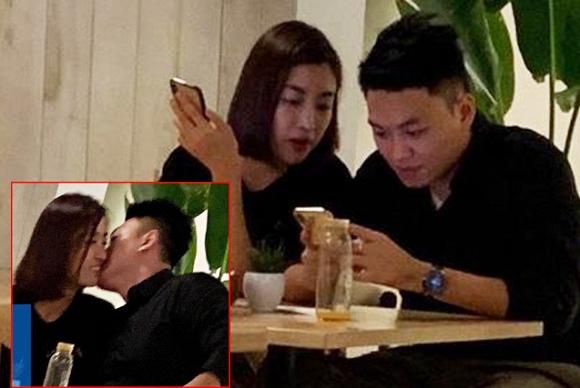 Sau ảnh hôn nhau tại quán cafe, Đỗ Mỹ Linh tiếp tục bị dân mạng soi bằng chứng hẹn hò thiếu gia Bảo Hưng - Ảnh 1
