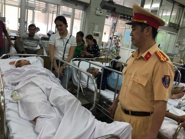 Nam thanh niên tông CSGT bị thương ở Sài Gòn có nồng độ cồn rất cao - Ảnh 1