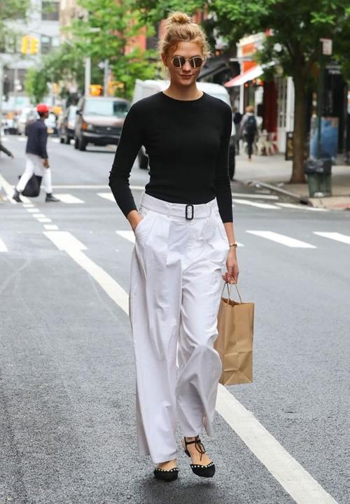 Quy tắc thanh lịch dành cho nữ công sở mê quần trắng - Ảnh 3