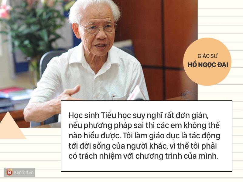 Clip những phát ngôn ấn tượng của GS Hồ Ngọc Đại: 'Làm giáo dục thì xin khẳng định không ai giỏi hơn tôi!' - Ảnh 1