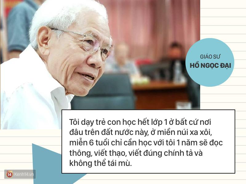 Clip những phát ngôn ấn tượng của GS Hồ Ngọc Đại: 'Làm giáo dục thì xin khẳng định không ai giỏi hơn tôi!' - Ảnh 11