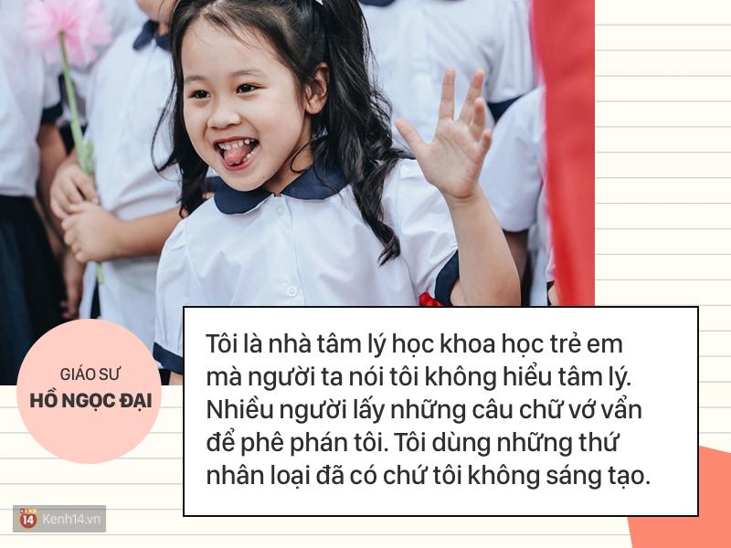 Clip những phát ngôn ấn tượng của GS Hồ Ngọc Đại: 'Làm giáo dục thì xin khẳng định không ai giỏi hơn tôi!' - Ảnh 2