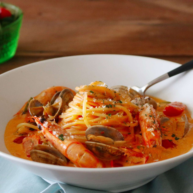 Món ngon cuối tuần: Mỳ Ý hải sản - Ảnh 6
