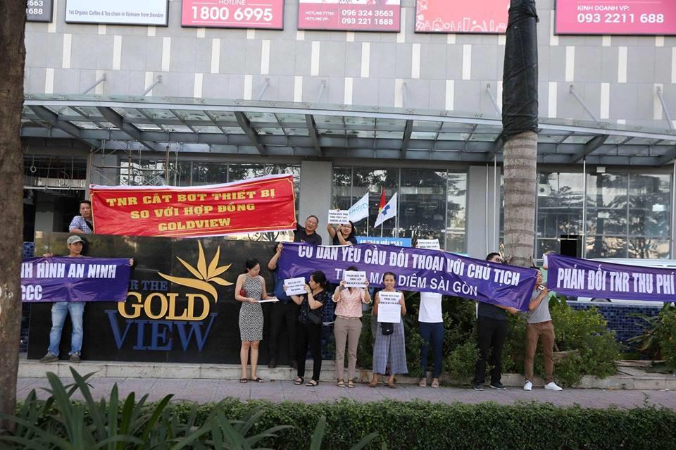 Chung cư Gold View ở Sài Gòn từng vướng nhiều lùm xùm - Ảnh 2