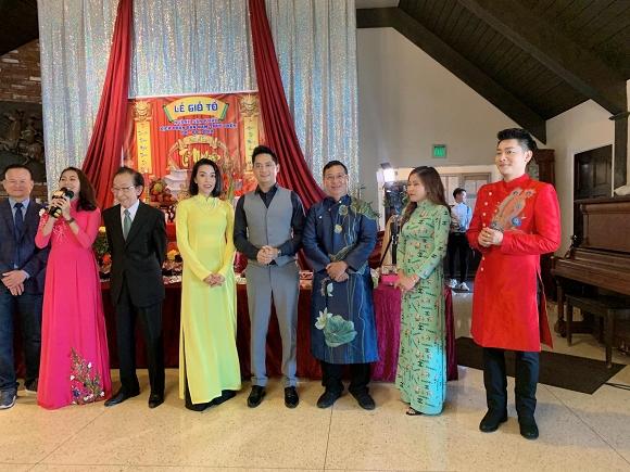 Minh Luân mang di ảnh cố nghệ sĩ Anh Vũ dự lễ giỗ tổ sân khấu ở Mỹ - Ảnh 4
