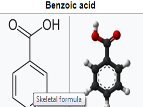 Axit benzoic kết hợp với vitamin C sinh chất gây ung thư?