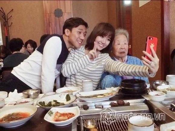 Bận 'tối mắt' nhưng Trấn Thành vẫn dành thời gian thăm họ hàng vợ ở Hàn Quốc - Ảnh 2