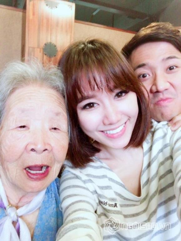 Bận 'tối mắt' nhưng Trấn Thành vẫn dành thời gian thăm họ hàng vợ ở Hàn Quốc - Ảnh 3