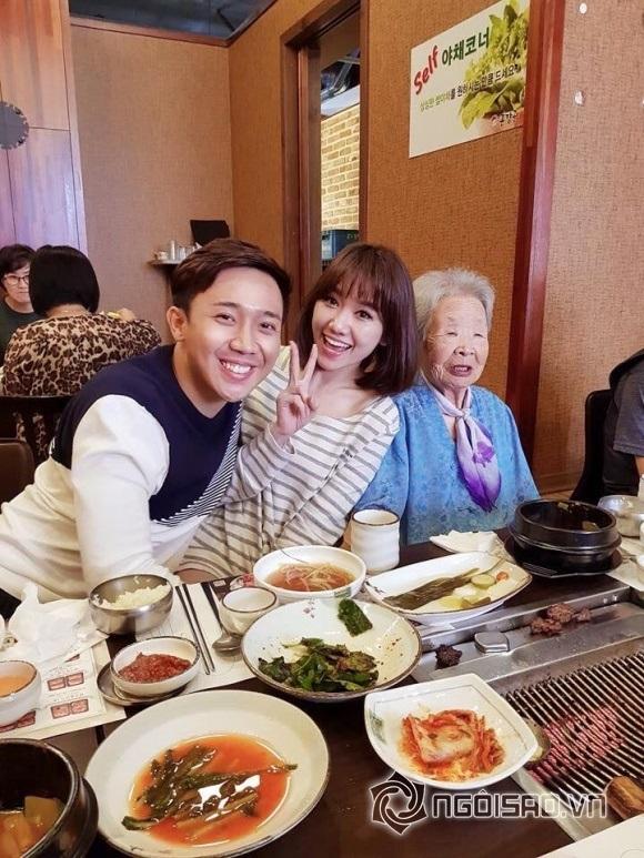 Bận 'tối mắt' nhưng Trấn Thành vẫn dành thời gian thăm họ hàng vợ ở Hàn Quốc - Ảnh 4