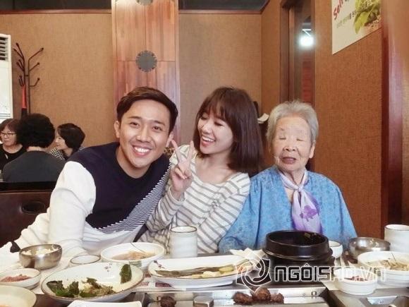 Bận 'tối mắt' nhưng Trấn Thành vẫn dành thời gian thăm họ hàng vợ ở Hàn Quốc - Ảnh 5