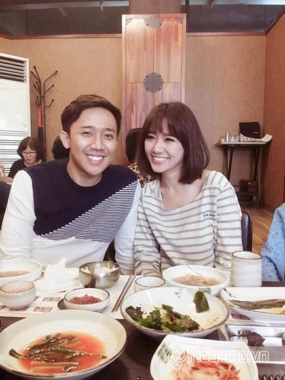 Bận 'tối mắt' nhưng Trấn Thành vẫn dành thời gian thăm họ hàng vợ ở Hàn Quốc - Ảnh 1