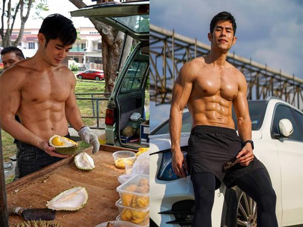Bất ngờ với sự đổi đời của hot boy 6 múi bán sầu riêng nhờ bức ảnh được chụp trộm ngoài chợ