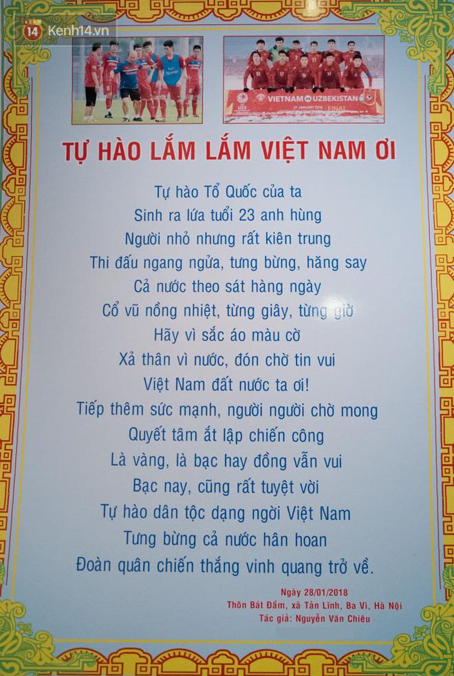 Chuyện cụ ông 69 tuổi bắt xe ôm, xe buýt gần 100km đến nhà bố mẹ Quang Hải để tặng một món quà 'đặc biệt' - Ảnh 9