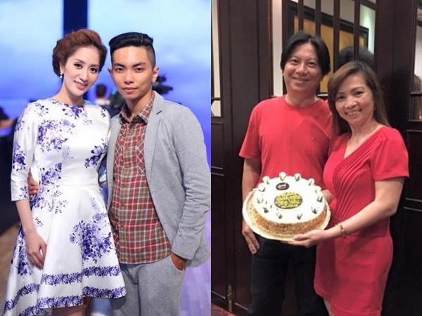 Ngưỡng mộ tình cảm ngọt ngào của bố mẹ chồng Khánh Thi