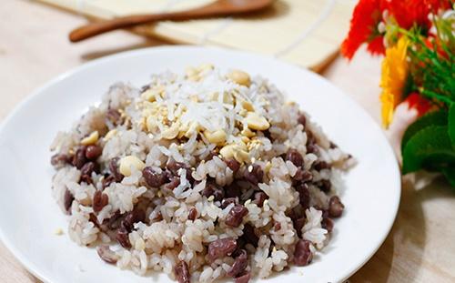 Học cách nấu xôi đậu đỏ cho mâm cỗ ngày Tết thêm tươi, gia đình gặp may mắn cả năm - Ảnh 3