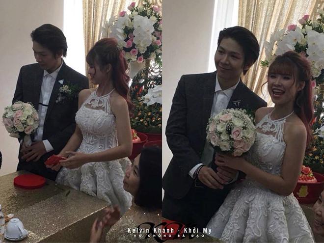 Khởi My và Kevin Khánh bí mật cưới sáng nay - Ảnh 1