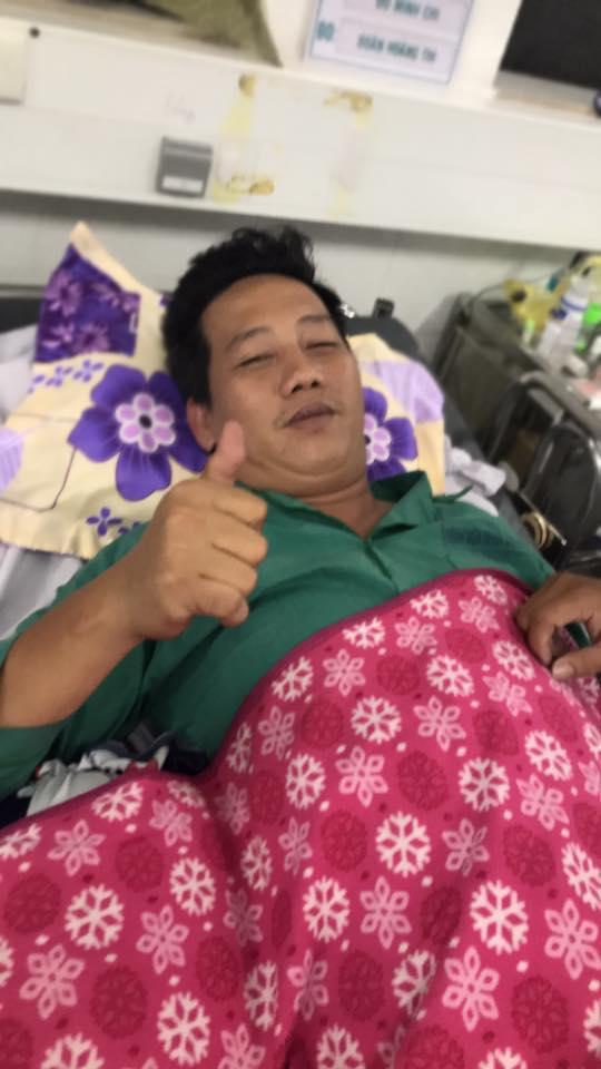 Diễn viên hài Lê Nam đã qua cơn nguy kịch sau khi bị đột quỵ, đang dần hồi phục sức khỏe - Ảnh 2