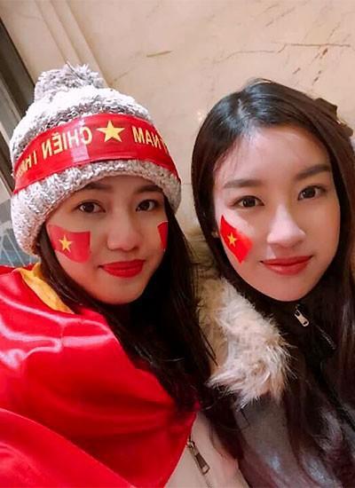 Hoa hậu Đỗ Mỹ Linh lần đầu lên tiếng sau khi âm thầm xuất hiện ở Thường Châu để cổ vũ cho U23 Việt Nam - Ảnh 3