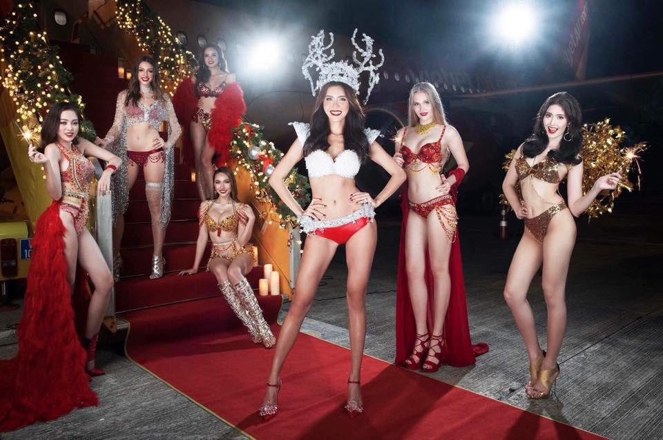 Lại Thanh Hương: 'Giấy tờ và trang phục bikini do Vietjet cung cấp' - Ảnh 3