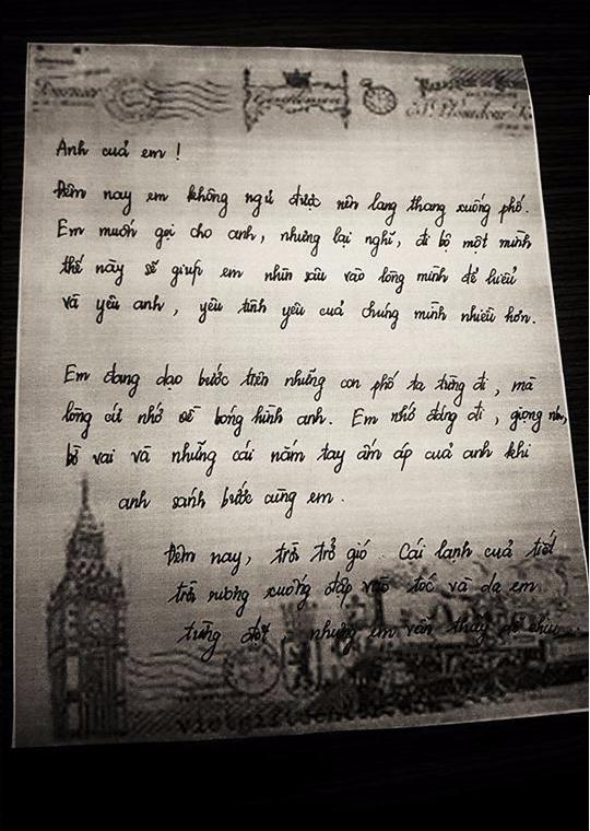 Lâm Khánh Chi gây xúc động với lá thư tay gửi chồng mới cưới: 'Dù là ai, chỉ cần thành thật trong tình yêu, rồi sẽ được đền bù' - Ảnh 2