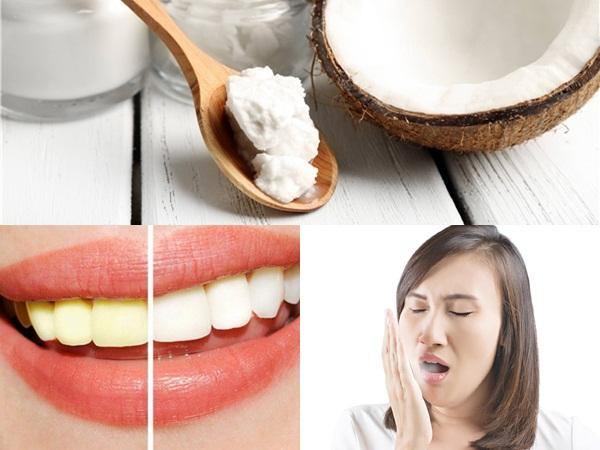 Mỗi sáng nhai dầu dừa sáp vài phút, hàm răng luôn trắng sáng, hơi thở thơm tho đến bất ngờ