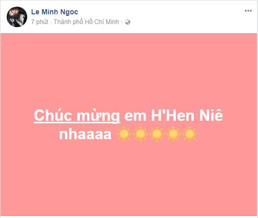 Loạt sao Việt nói gì về tân Hoa hậu Hoàn vũ Việt Nam 2017? - Ảnh 11