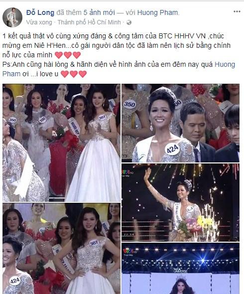 Loạt sao Việt nói gì về tân Hoa hậu Hoàn vũ Việt Nam 2017? - Ảnh 14