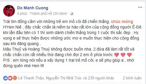 Loạt sao Việt nói gì về tân Hoa hậu Hoàn vũ Việt Nam 2017? - Ảnh 4