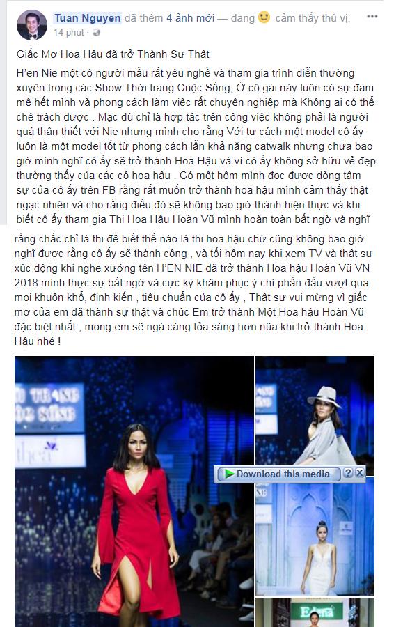 Loạt sao Việt nói gì về tân Hoa hậu Hoàn vũ Việt Nam 2017? - Ảnh 5