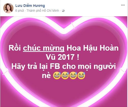 Loạt sao Việt nói gì về tân Hoa hậu Hoàn vũ Việt Nam 2017? - Ảnh 8