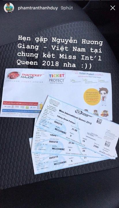 Ngọc Trinh khen hết lời, Thanh Duy sang Thái cổ vũ Hương Giang Idol - Ảnh 2