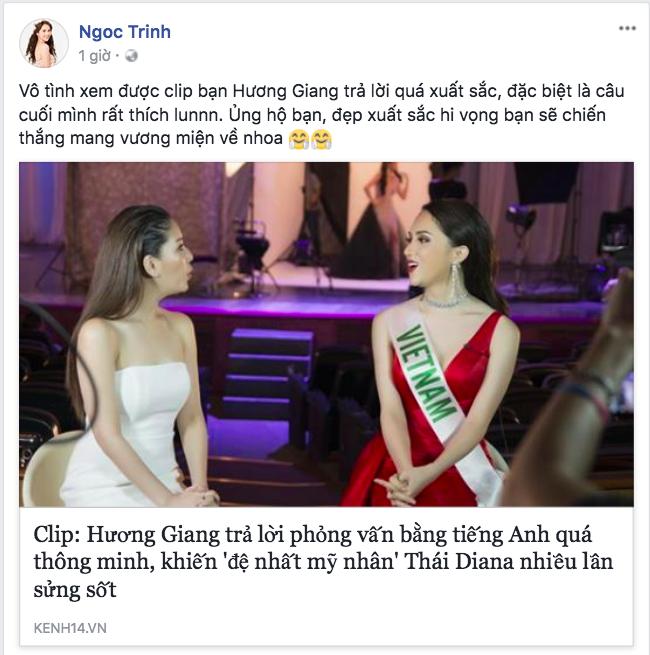 Ngọc Trinh khen hết lời, Thanh Duy sang Thái cổ vũ Hương Giang Idol - Ảnh 3