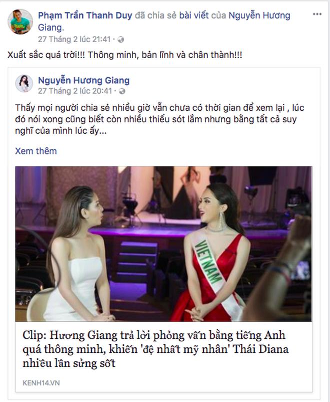 Ngọc Trinh khen hết lời, Thanh Duy sang Thái cổ vũ Hương Giang Idol - Ảnh 4