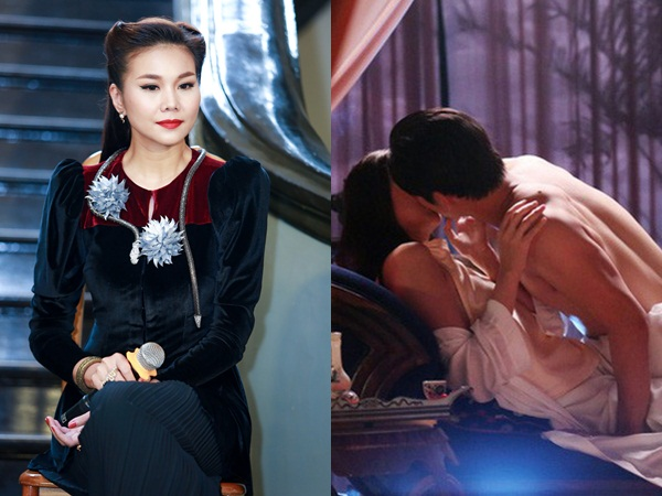 Thanh Hằng cảm thấy kinh khủng khi phải đóng cảnh nóng trong phim 'Mẹ chồng'