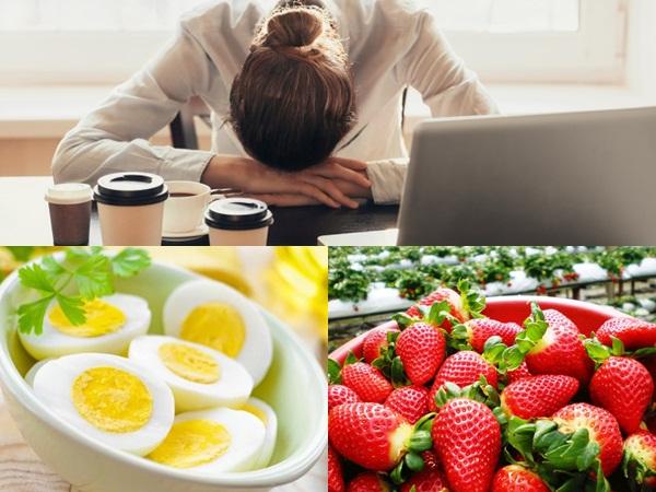 Cạn kiệt năng lượng, bạn hãy bổ sung ngay những thực phẩm này để 'sạc pin' nhanh chóng