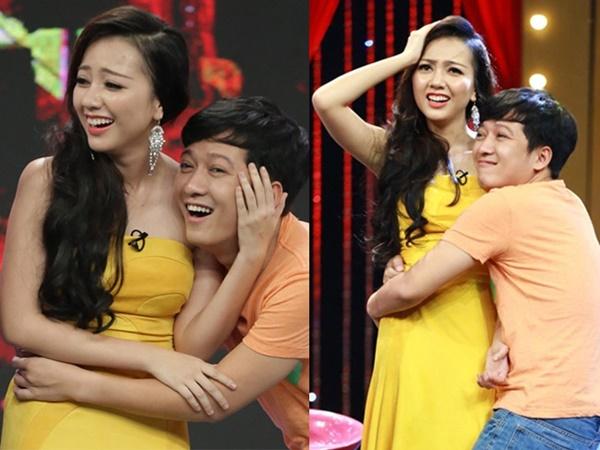Sao nữ lên tiếng chuyện bị Trường Giang lợi dụng ôm hôn trên truyền hình