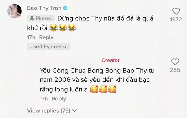 Bị dân mạng 'khui lại' video 'nói xạo' tên thật, phản ứng của ca sĩ Bảo Thy ra sao? - Ảnh 3