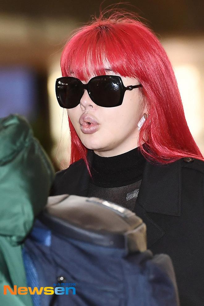 Sao nữ nổi tiếng xứ Hàn lại khiến dân mạng 'sốc tận óc' với ngoại hình gần đây, khuôn mặt bị 'nát' vì dao kéo quá đà? - Ảnh 7