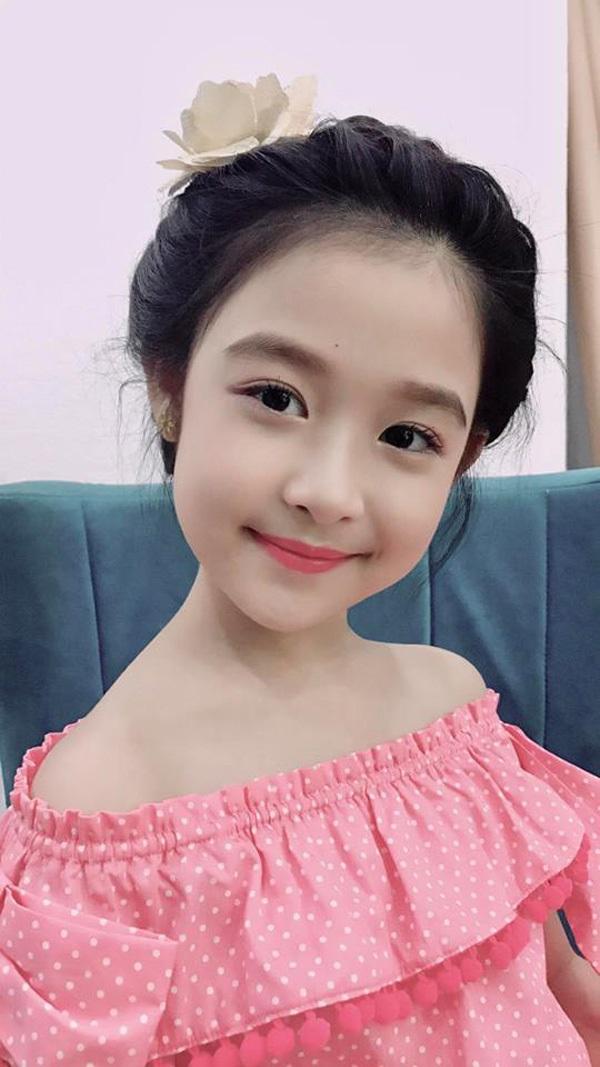 Bé gái Lê Huỳnh Bảo Ngọc, 9 tuổi ở Cần Thơ.